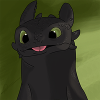 Toothless by Kirawolfgirl
