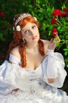 Princess in the garden... by LucreciaBorja
