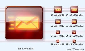 Send letter Icon by dedumber