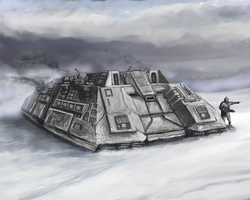 Snow Crawler by Crowsrock