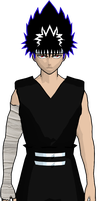 hiei cel-shaded 5 by GAME-ART-EDITED-ART