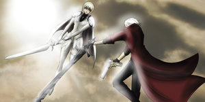 |Devil May Claymore| by EandPi233