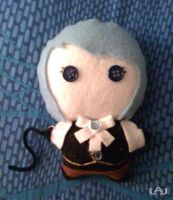 Chibi Plushies: Franziska by Red-Flare
