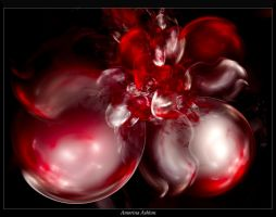 Red Bubbles by AmorinaAshton