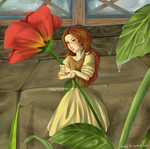 Arrietty - Fanart by Tsukoji