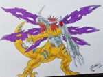 MetalGreymon / Digimon by HBitwill
