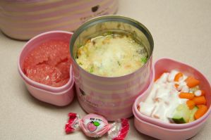 Shrimp Risotto Bento by Demi-Plum