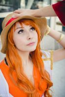 Nami NW (One Piece 15th Anniversary) by Amie24