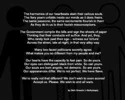 Untitled - A poem against Racism by Bethybops