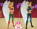 DC Super Hero Girls Hawkgirl Dress Up by heglys