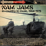 'Nam Jams jewel case front by PaperArtillery