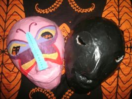 Face painting masks by the-pinata-pimp