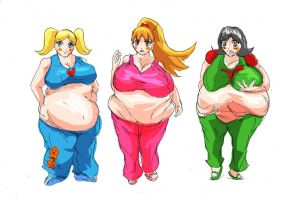BBW Powerpuff-Girls by morugen