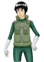 Rock Lee by UnderseaSun