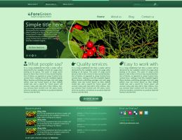 ForeGreen Wordpress Theme by katsarov