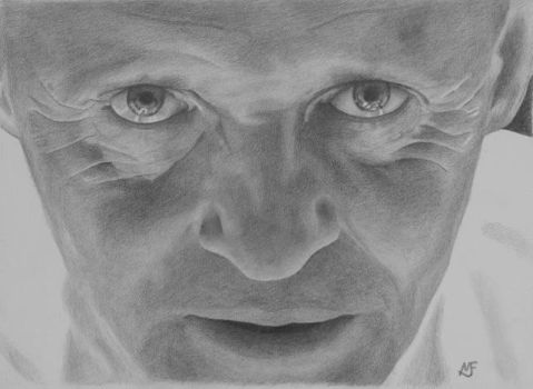 Hannibal Lecter by drawclub