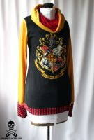 harry potter hogwarts hoodie 4 by smarmy-clothes