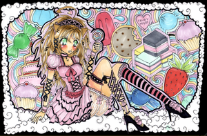 Commish: Midnight in Candyland by chain-star