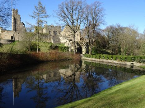 Prudhoe Castle (2) by omick
