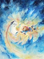 Space buddies by TransmissionDream