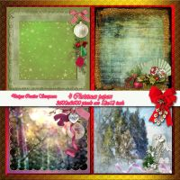 Christmas papers preview by Creativescrapmom