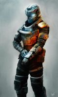 Deadspace Soldier by thiago-almeida