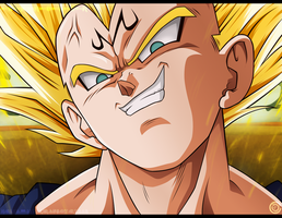 COMISION-(Majin-Vegeta) by NARUTO999-BY-ROKER