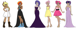 My Little Pony - Formal by JadeAriel