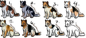 :Hound Dogs: 20 pt each [CLOSED] by FluffyKennels