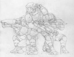Space Marines by SuperSentinel