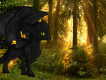 .:Toothless:. by DiachanX