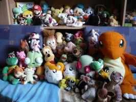 Plush Collection by Shini-Smurf