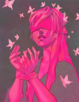 COLOURS ARTBOOK:: Pink Pink by 1022