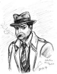 Harvey Bullock sketch by ShinRedDear