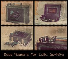 Dead Flowers for Lolic Gothita by Le-Coeur-Gothique