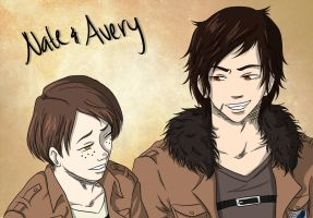 Nate and Avery by ShOrtSh4dow