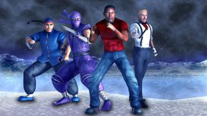 STREET FIGHTER  REDUX - GROUP 1 by thatdb