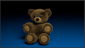 Blender Bear by LucasSaturn