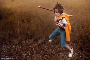 Saiyuki Reload - Goku by vaxzone