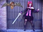Amy Sorel - Soul Calibur IV II by LauraNikoPhantomhive