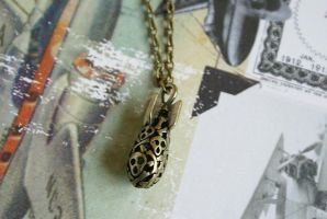 Drop the Bomb Necklace by MonsterBrandCrafts