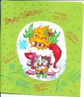 Miss Kitty flying beeping fuzzball 2013 Christ by Kittychan2005