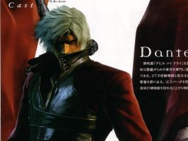 Dante ..::DMC2::.. by The-Bone-Snatcher