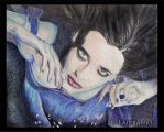 Eva Green (pencil drawing) by eyeqandy