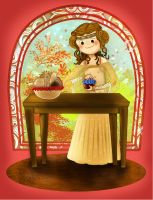 Padme and the picnic by idnerine
