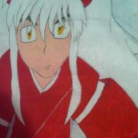 INUYASHA BIG POSTER WITH CRAYONED XD by SamuXchan