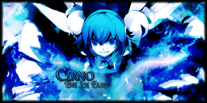 Cirno the Ice Fairy by The-Fuel