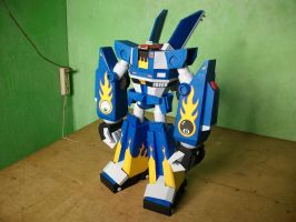 Megas XLR Project:Papercraft M.E.G.A.S. Complete 2 by MarcGo26