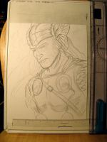 Thor sketch by renonevada