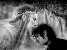 Galadriel and Frodo by Musmy94